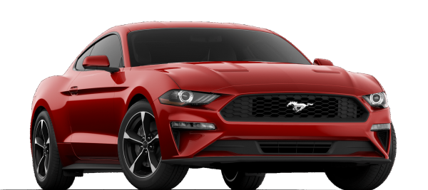 Ford Mustang EcoBoost Rapid Red Metallic 2021