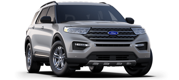 Ford Explorer Iconic Silver 2021