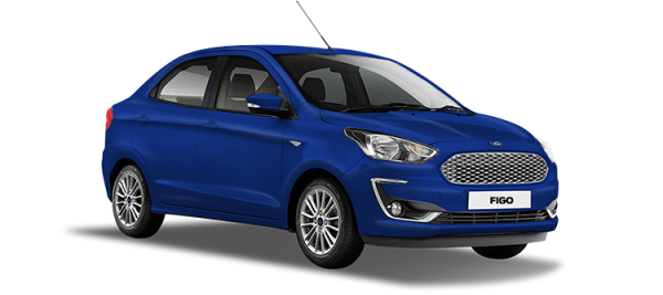Ford Figo Deep Impact Blue 2020