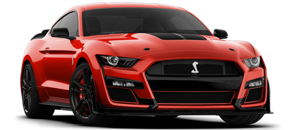 Ford Mustang Shelby GT500 Race  Red 2021