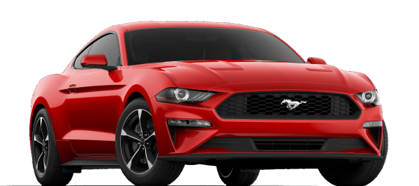 Ford Mustang EcoBoost Race  Red 2020