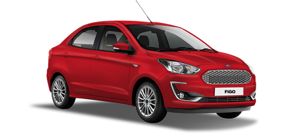 Ford Figo Ruby Red 2020