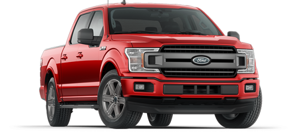 Ford F150 XLT Race  Red 2020