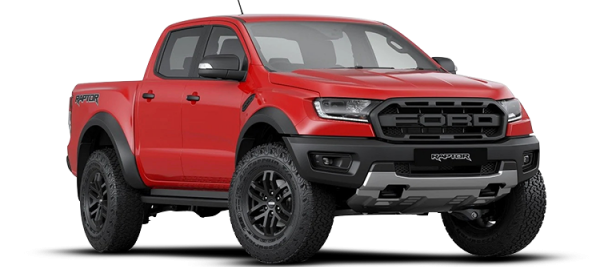 Ford Ranger Raptor Colorado Red 2020