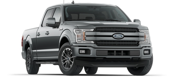 Ford F150 Lariat Abyss Gray 2021
