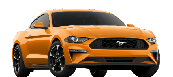 Ford Mustang EcoBoost Twister Orange TRI-COAT 2021