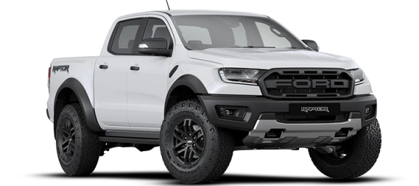 Ford Ranger Raptor Frozen White 2020