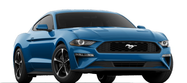 Ford Mustang EcoBoost Velocity Blue 2021