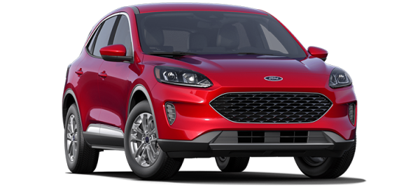 Ford Escape Rapid Red Metallic 2020
