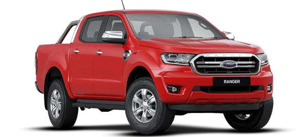 Ford Ranger XLT Colorado Red 2020