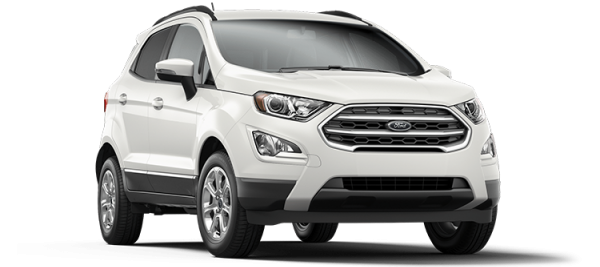 Ford EcoSport Diamond White 2020