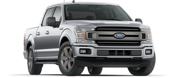 Ford F150 XLT Iconic Silver 2021