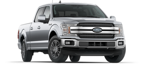 Ford F150 Lariat Iconic Silver 2020