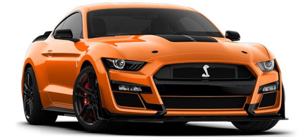 Ford Mustang Shelby GT500 Twister Orange TRI-COAT 2021