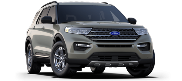 Ford Explorer Silver Spruce 2021