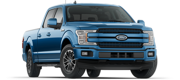 Ford F150 Lariat Velocity Blue 2020