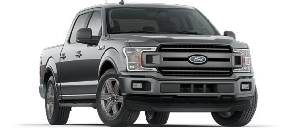 Ford F150 XLT Abyss Gray 2021