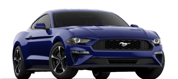 Ford Mustang EcoBoost Kona Blue 2021