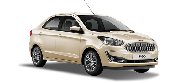 Ford Figo White Gold 2020
