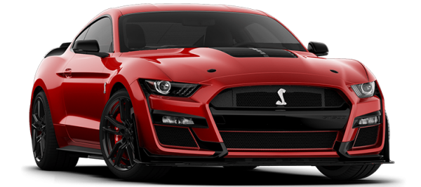 Ford Mustang Shelby GT500 Rapid Red Metallic 2021