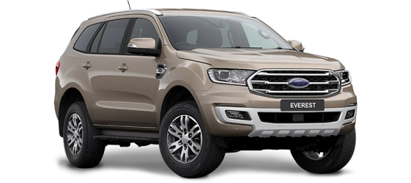 Ford Everest Diffused Silver 2021