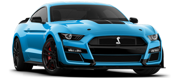 Ford Mustang Shelby GT500 Velocity Blue 2021