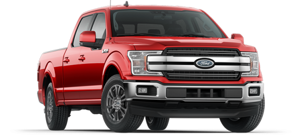 Ford F150 Lariat Race  Red 2020