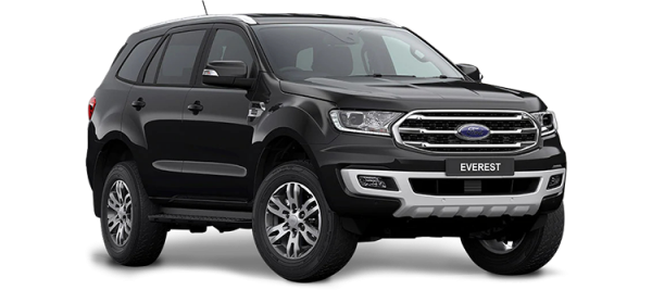 Ford Everest Absolute Black 2021